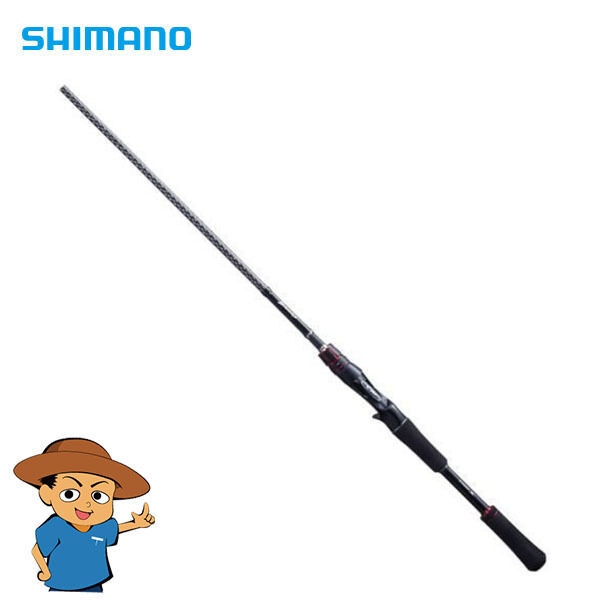 Shimano ZODIAS 175H Heavy 7'5  freshwater bass fishing baitcasting rod pole