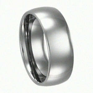 Women Polish 6MM Wedding Band Ring Never Tarnish Size 12 R110 Tungsten Mens