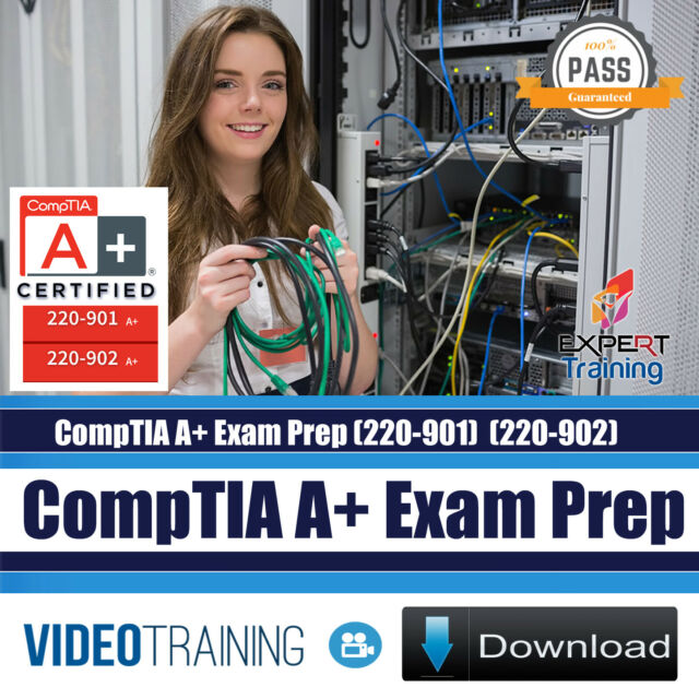 CompTIA A+ 220-901 & 220-902 Exams 20 Hours Video Training Course DOWNLOAD