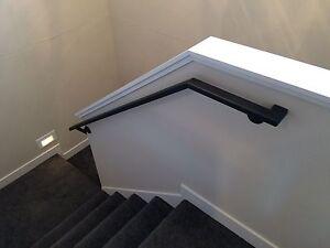 Image Is Loading Custom Built Steel Railings Wall Stair Rail Hand