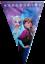 Disney-Frozen-drapeau-banniere-Bunting-Enfants-Fete-D-039-Anniversaire-Decoration-Filles miniature 2