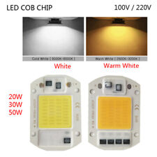 Driverless LED COB Chip Integrated 110/220V Light Source 20W 30W 50W Smart IC