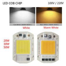 Driverless LED COB Chip Integrated 110/220V Light Source 20W 30W 50W Smart IC
