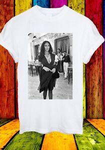 Maria-Grazia-PROF-LAVAZZA-CAFFE-TRIPOLI-Uomini-Donne-Unisex-T-shirt-2727