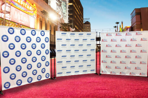 In-house Step and Repeat EVENT Banner 2/' x 2.5 Meter  photography backdrop