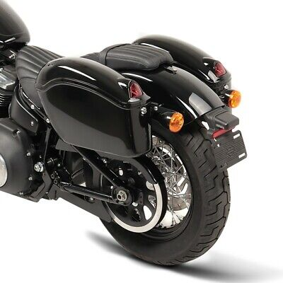 VT 1300 CX Fury Hard saddlebags Michigan 18l for Honda VTX 1300//1800// C//R//S