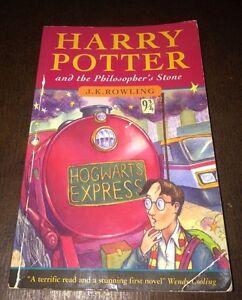 J K Rowling Harry Potter The Philosopher 39 S Stone 1st