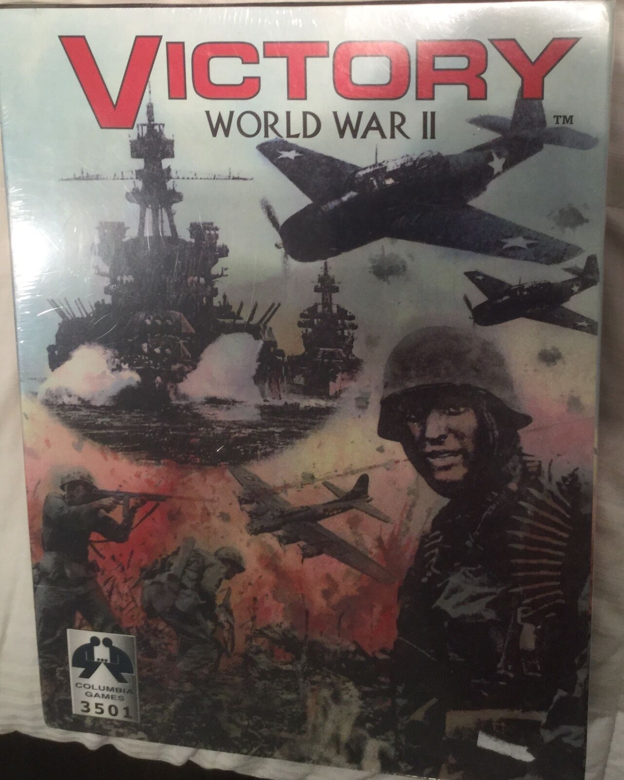 Victory, World War II  Wargioco by Columbia giocos,  Shrink wrapped.  bellissima