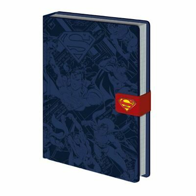 Official Licensed Marvel Comics Logo Premium A5 Red Notebook Journal