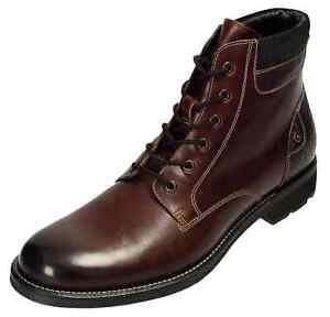 Klondike-Stiefeletten-Herrenschuhe-Leder-Boots-MH-094H54-braun-Gr-40-46-Neu31
