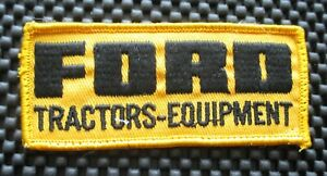FORD-TRACTOR-EQUIPMENT-EMBROIDERED-SEW-ON-PATCH-FARM-UNIFORM-4-1-2-034-x-2-034