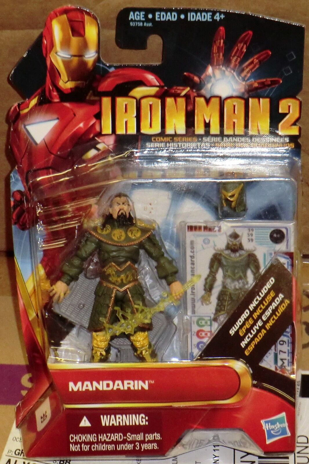 MARVEL MARVEL MARVEL IRON MAN 2  MANDARIN  REGULAR & TRI-LINGUAL 2 FIGURES MOC cd07ed