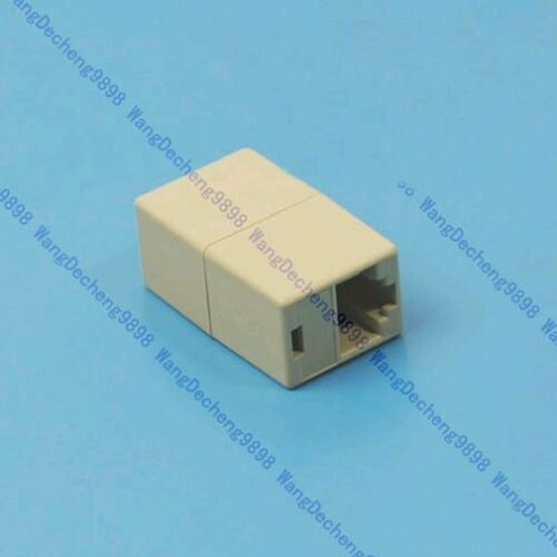 2X RJ45 CAT5E CAT5 Network Ethernet Adapter Connector New