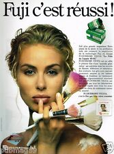 Publicité advertising 1990 Pellicule Photo Fuji Fujichrome Velvia