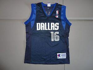 4f8f3706e21a Image is loading Vintage-CHAMPION-Dallas-Mavericks-16-Wang-Zhizhi-NBA-