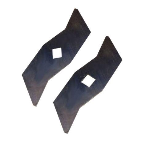 12 Vertikutierer Messer passend für AL-KO ALKO  ELV 1300   510504  510825