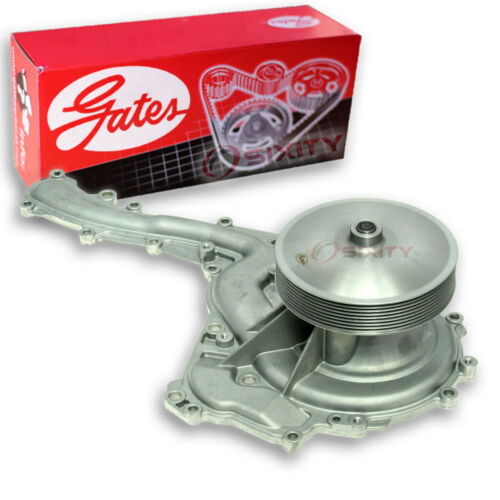 Gates Main Engine Water Pump for 2011-2016 Ford F-350 Super Duty 6.7L V8 zm
