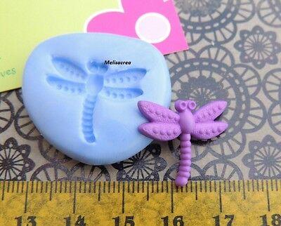 Moule Silicone petit libellule -fimo, cernit, résine, plâtre, porcelaine froide