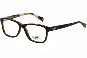 Coach Eyeglass Frames Julayne : Coach Eyeglasses Julayne HC6013 HC/6013 5001 Dark Tortoise ...