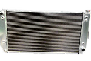 KKS 3 ROWS 1994-2000 Chevy C//K series all aluminum radiator fit 7.4L