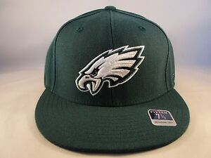 60106483992 Philadelphia Eagles NFL Reebok Size 7 1 2 Fitted Hat Cap Green