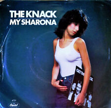 THE KNACK - MY SHARONA b/w LET ME OUT -  CAPITOL 45 + PICTURE SLEEVE