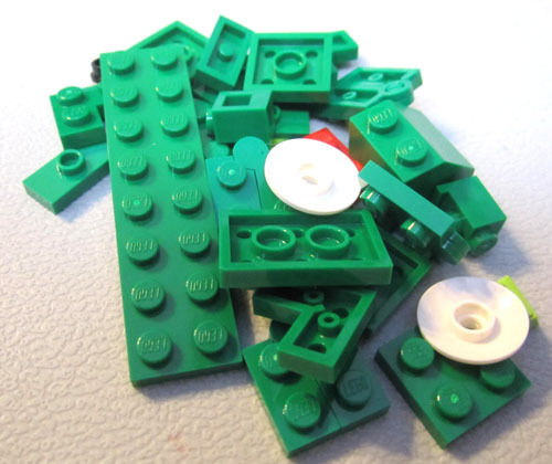 #7804 Lego Lizard Retired 2009 33 pieces