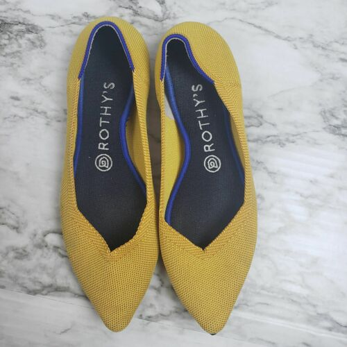 Rothy's 8.5 Marigold Point Flat