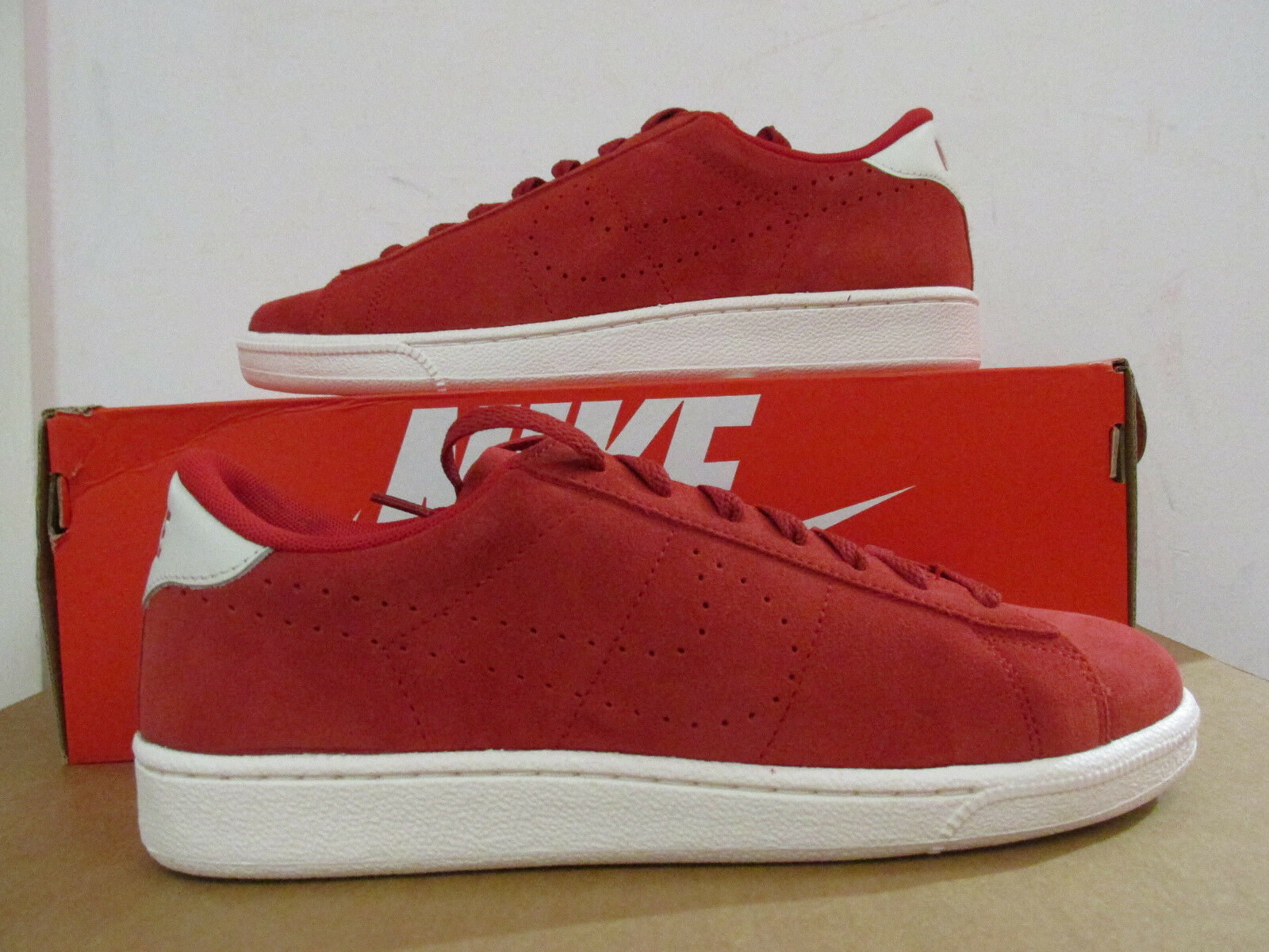Nike Tennis Classic CS Suede mens Trainers 829351 600 sneakers CLEARANCE Wild casual shoes