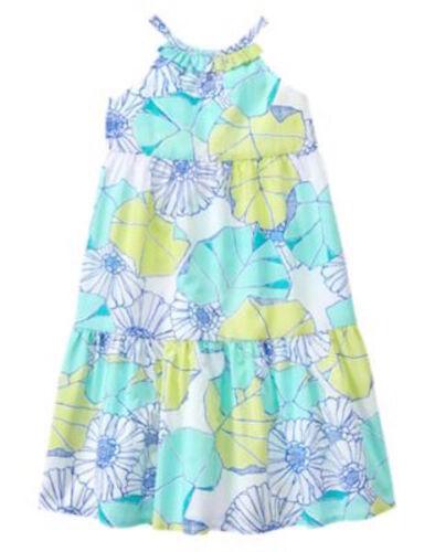 NWT Gymboree Tide Pool Floral Midi Dress 4,5,7,8,10 girls