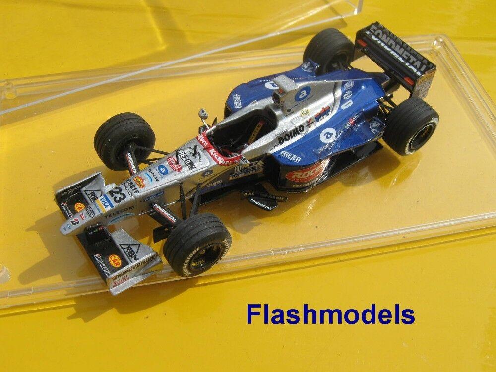 1:43 Minardi Ford 198 1998 E. Tuero S.M. GP Tameo handbuilt MODELCAR in vetrina
