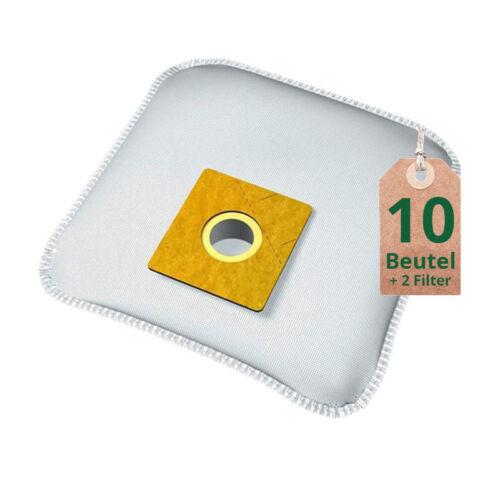 10 Staubsaugerbeutel Filtertüten für Dirt Devil M 3050-4 Classic Staubsauger uva