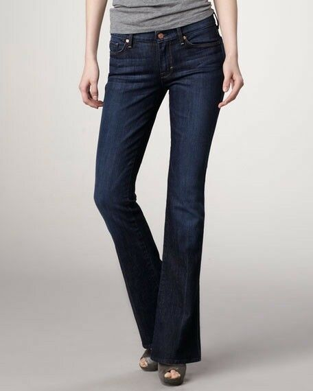 7 For all Mankind Kaylie Slim Bootcut Flare bluee Jeans Women Size 24