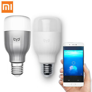 Xiaomi-Yeelight-E27-9W-220V-LED-Light-Wireless-WIFI-Control-Smart-Bulb-RGB-Color