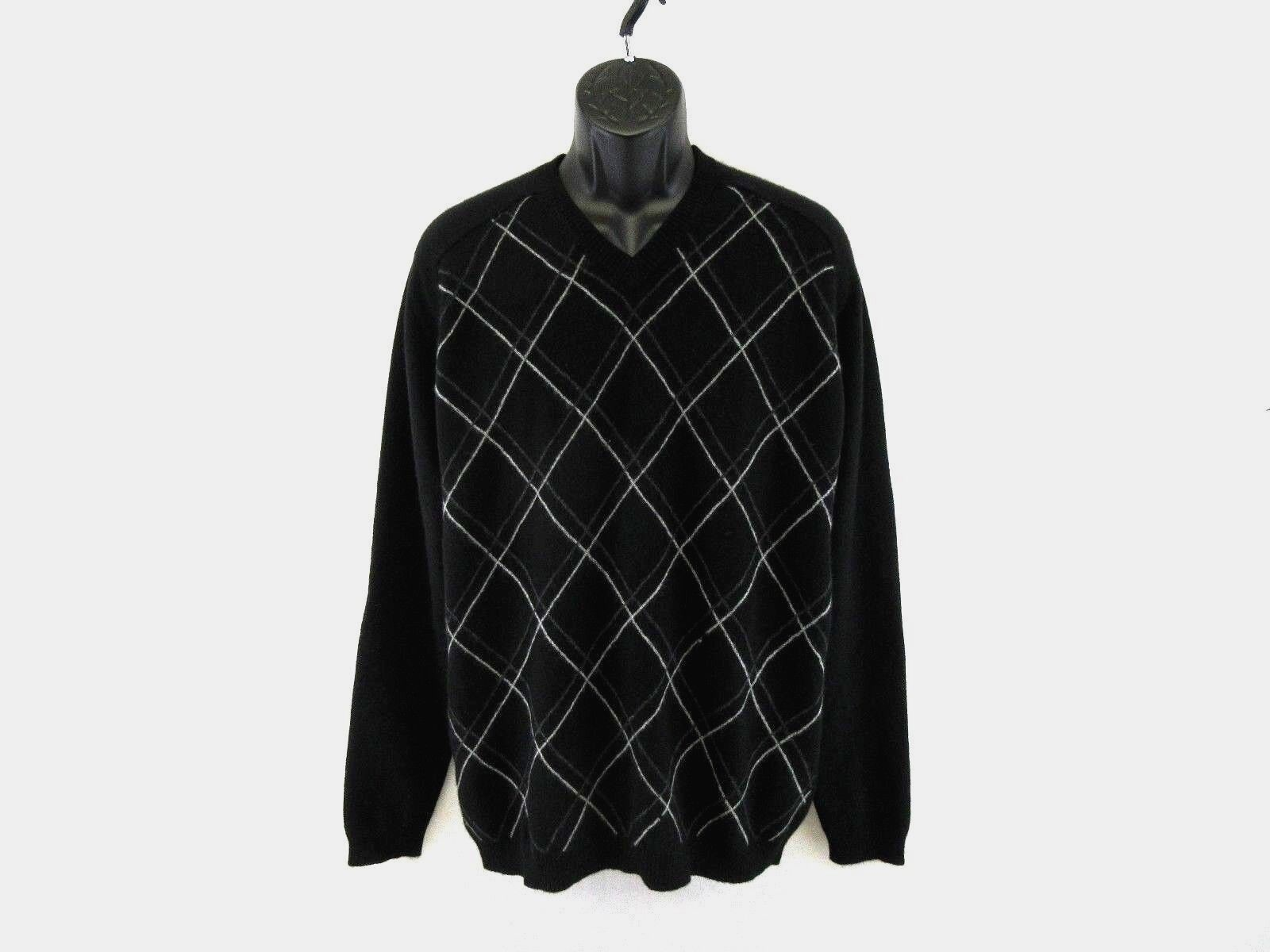 Two A.M. Men's 100% Cashmere Sweater Size XL  KK235