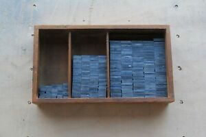 6p-Quadraten-Sortiment-Ausschluss-Blindmaterial-Buchdruck-Letterpress-Bleisatz