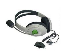 AURICOLARE per Microsoft XBOX 360 LIVE online MULTIPLAYER Gaming Giochi Mic Comms