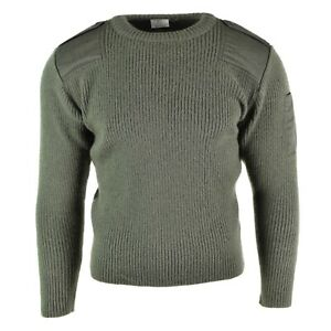 Genuine-French-army-pullover-Navy-OD-Olive-Commando-Jumper-Military-sweater