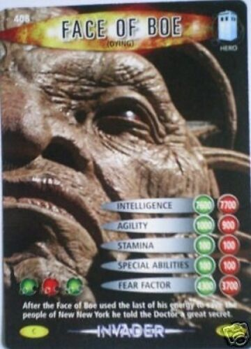 DR WHO INVADER CARD 528 SCARECROW 3 MINT !!