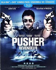 NEW BLU-RAY/DVD COMBO // Pusher // Richard Coyle, Agyness Deyn, Bronson Webb, Zl