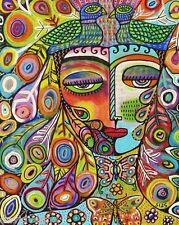 8 X 10 Canvas Print Mother and Child Madona Sandra Silberzweig