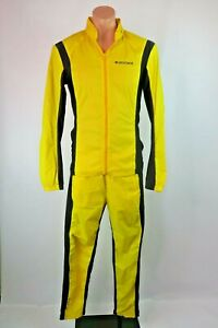 Descente-VTG-Japan-Cycling-Skiing-Light-Rain-Jacket-Pant-Suit-2pc-Waterproof-M