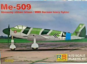 Messerschmitt-Me-509-WWII-German-Heavy-Fighter-What-If-RS-Models-Kit-1-72-92203