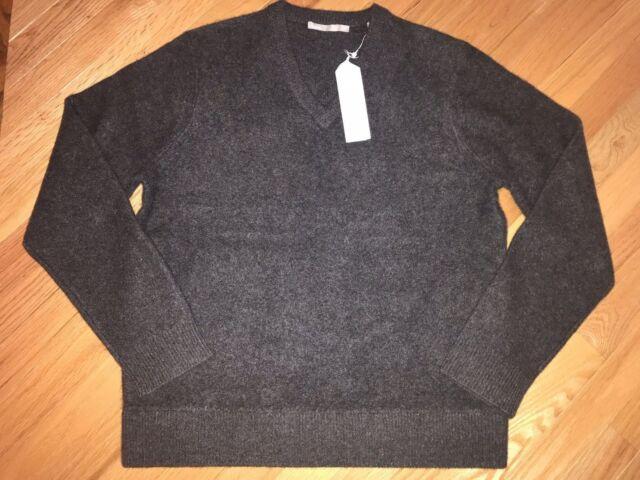 $320 Vince Men's V-Neck 100/% Cashmere Sweater Size XL 2XL Long Sleeve