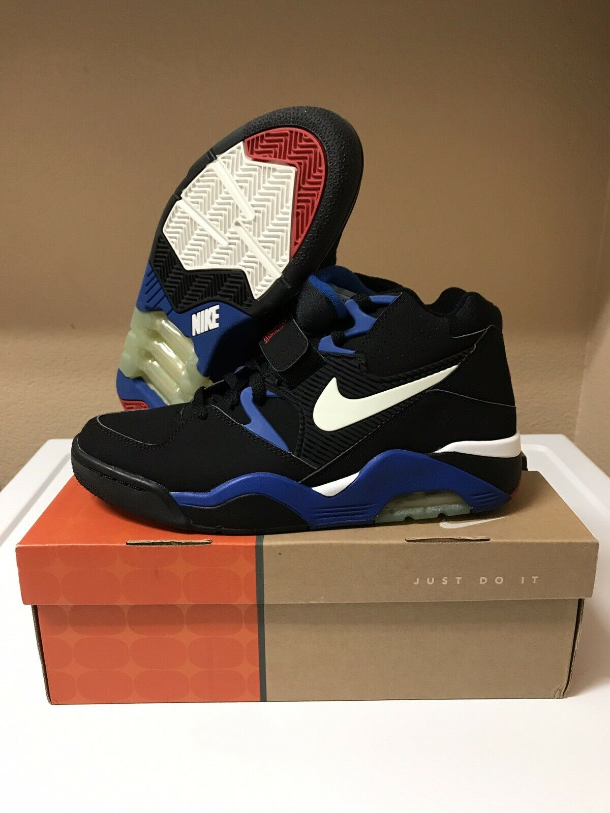 New Nike Air Force 180 OG Barkley Basketball Men's 10