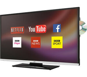 jvc 32 inch smart led lcd tv dvd combi freeview hd wifi. Black Bedroom Furniture Sets. Home Design Ideas