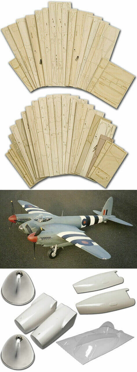 DH98 Mosquito PR.XVI (81 ) -Short Kit (Set)