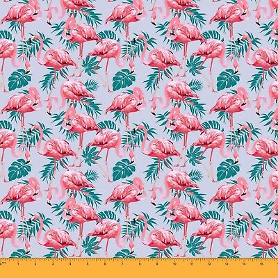 Soimoi 180 GSM Sewing 60 Inches Wide Floral Print 2-Way Stretch Velvet Fabric