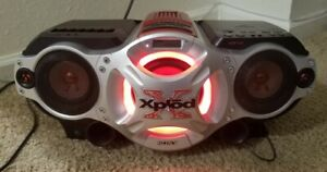 SONY XPLOD CD / RADIO / CASSETTE / MP3 INPUT BOOMBOX CFD-G700CP *NO REMOTE*