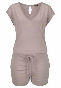 Sleepwear & Robes Lascana Jumpsuit Schlafanzug Einteiler Sand 665073 In Short Supply